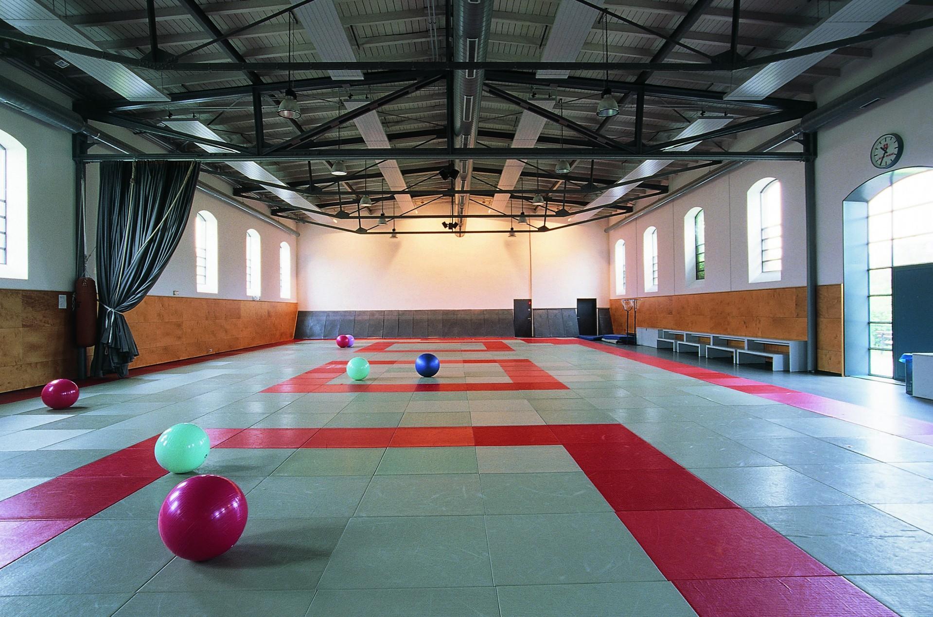Sporthalle Innen