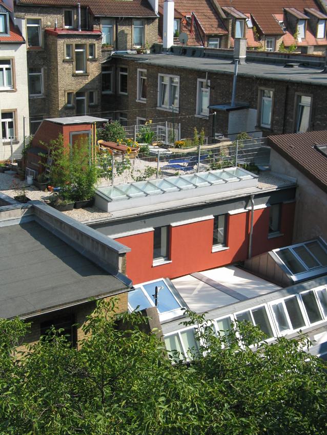 Loft Dachterrasse