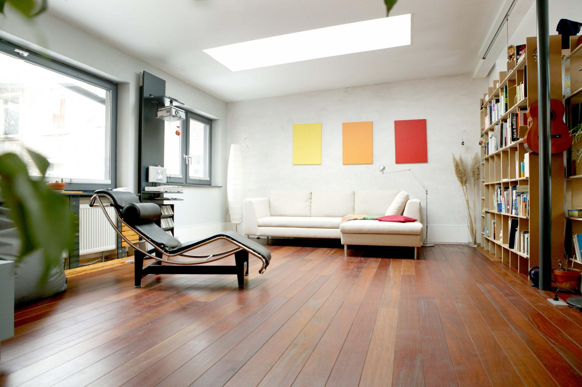 Loft Innenausbau Wohnzimmer