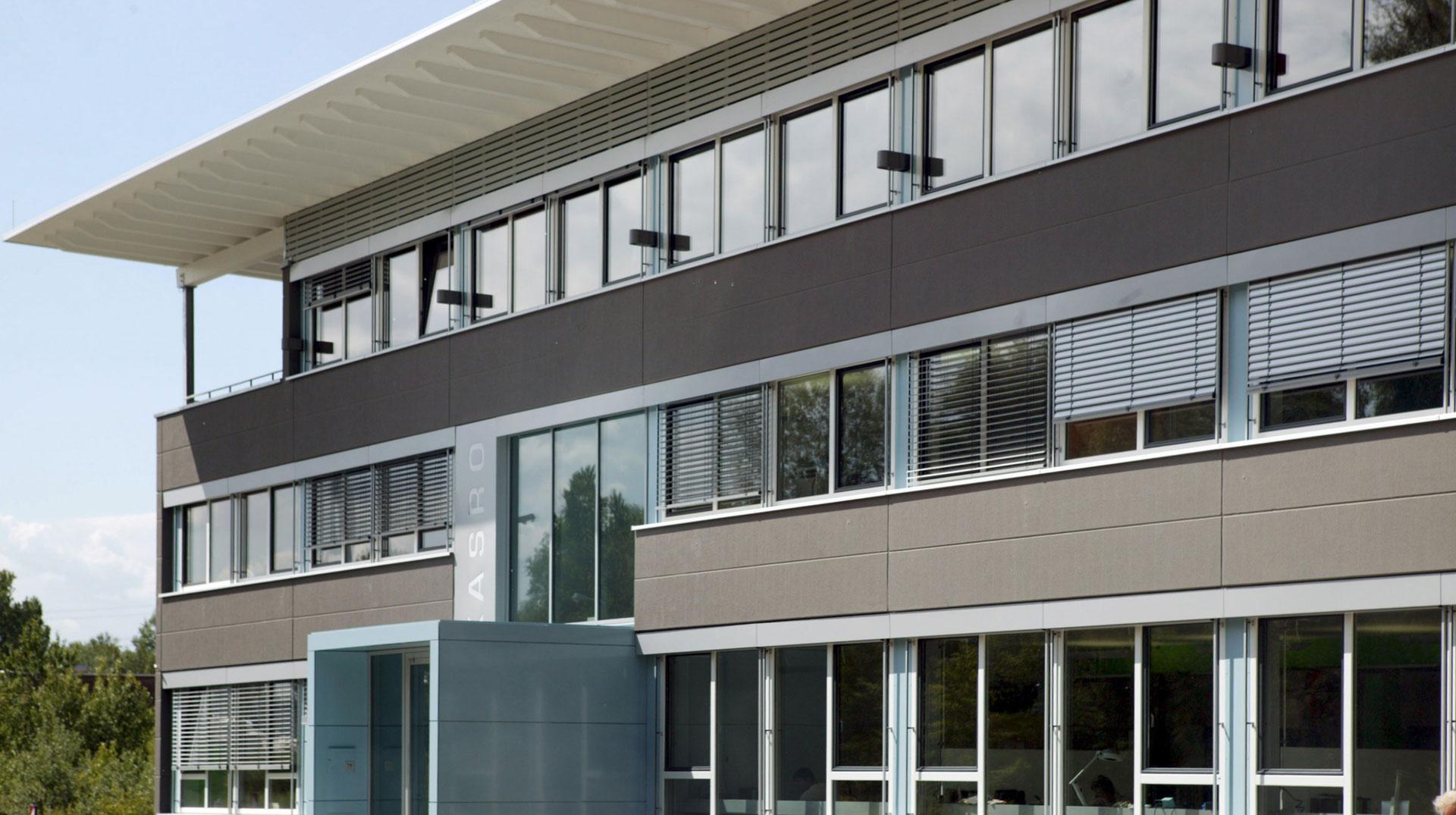 Fassadengestaltung Gewerbeimmobilie