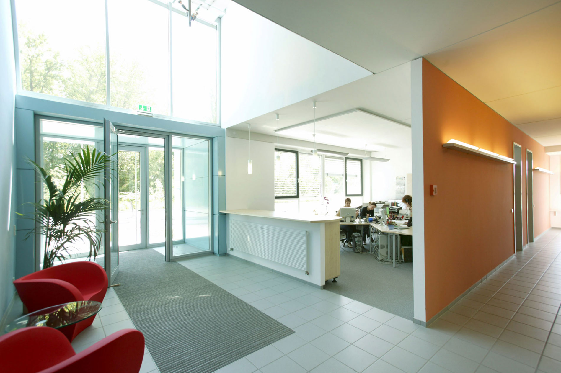 Innenarchitekt Innenausbau Firmengebäude