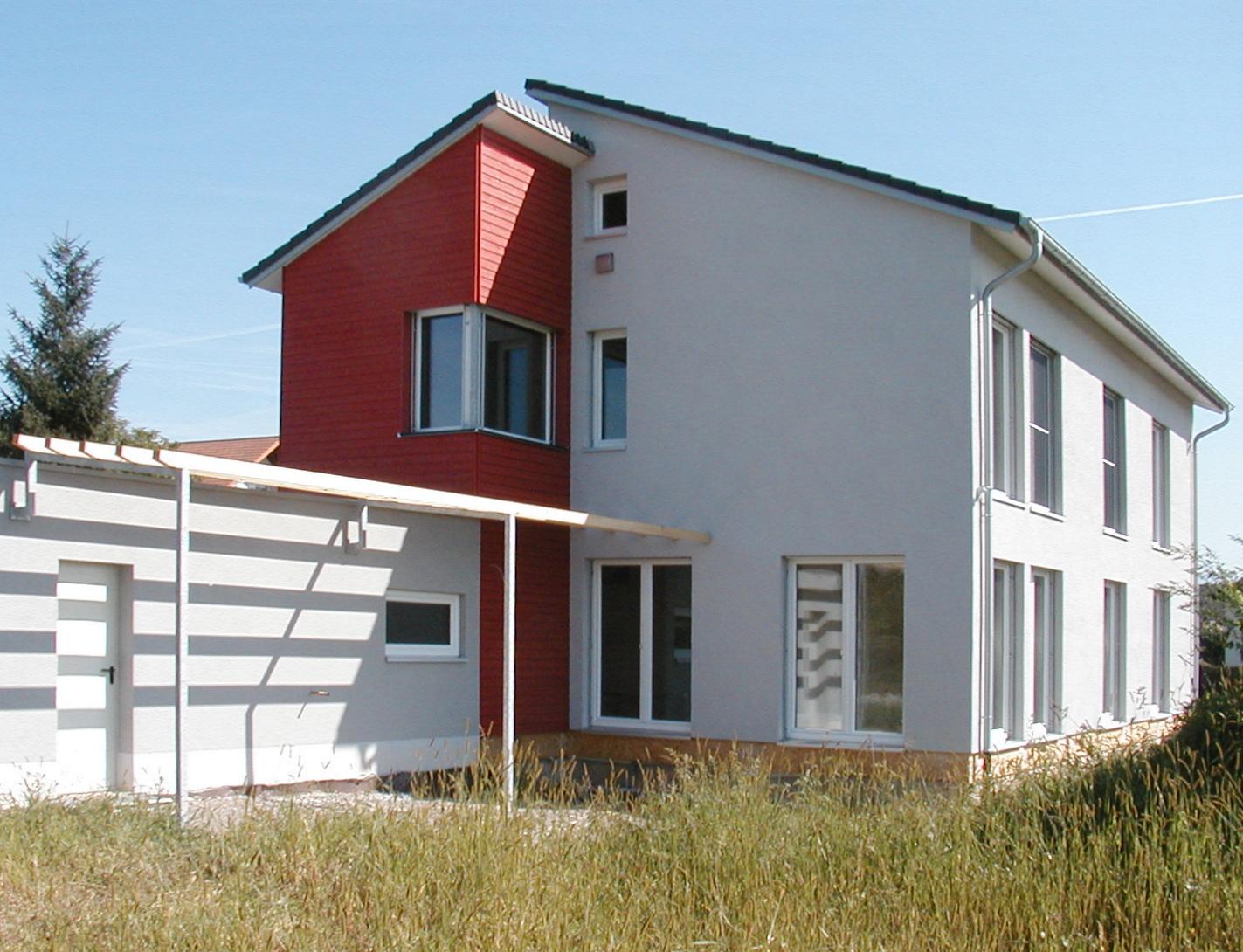 Passivhaus Einfamilienhaus