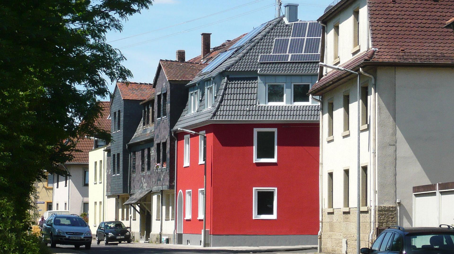 Energetische Modernisierung Stadthaus Karlsruhe