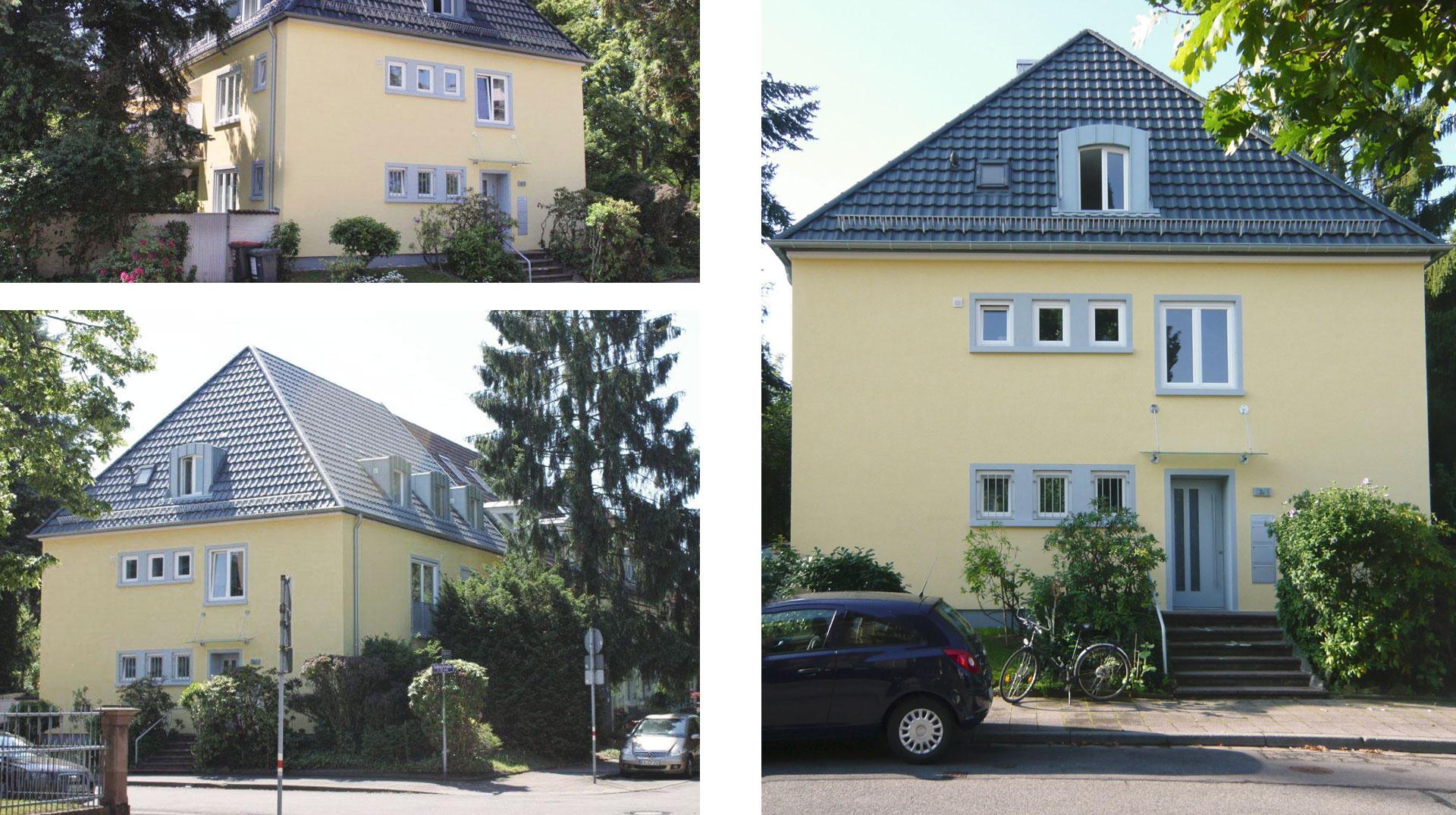 Energetische Modernisierung 3-Familienhaus