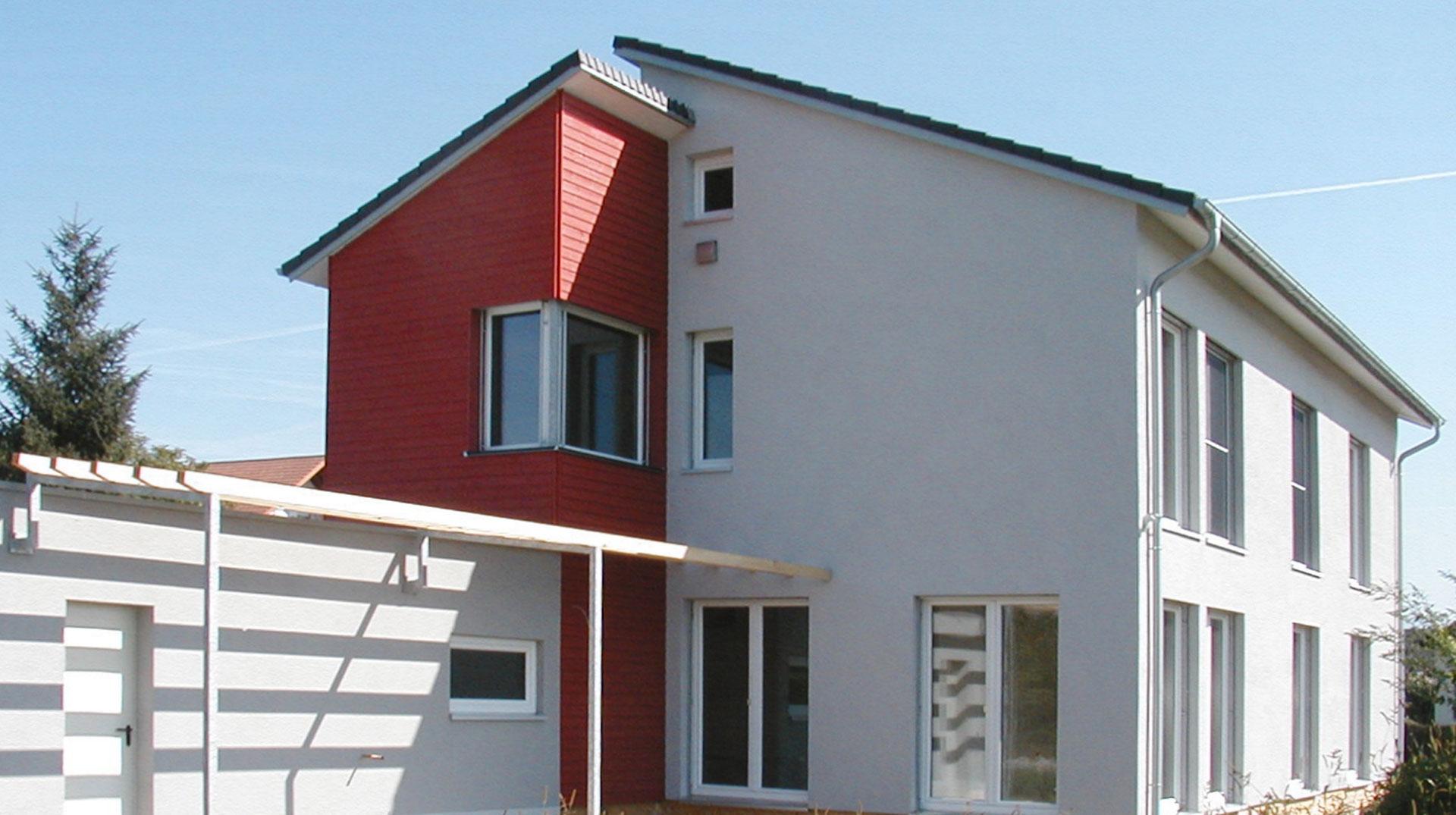 Einfamilienhaus, Passivhaus, Karlsruhe