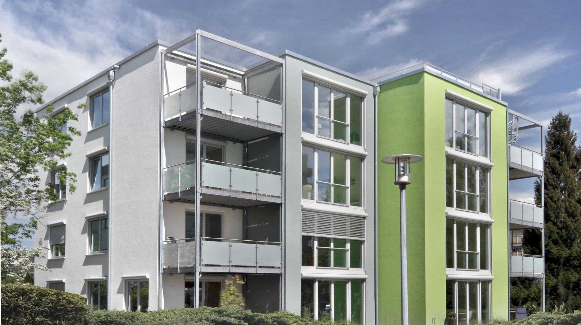 8-Familienhaus Passivhaus Ettlingen
