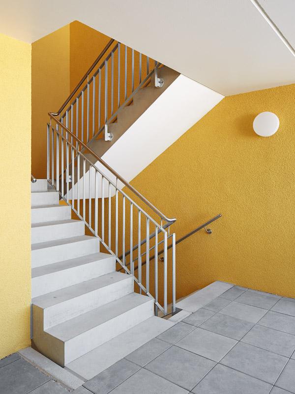 Treppenhaus mehrfamilienhaus  Mehrfamilienhaus KfW 55 Linkenheim - Bisch . Otteni Architekten