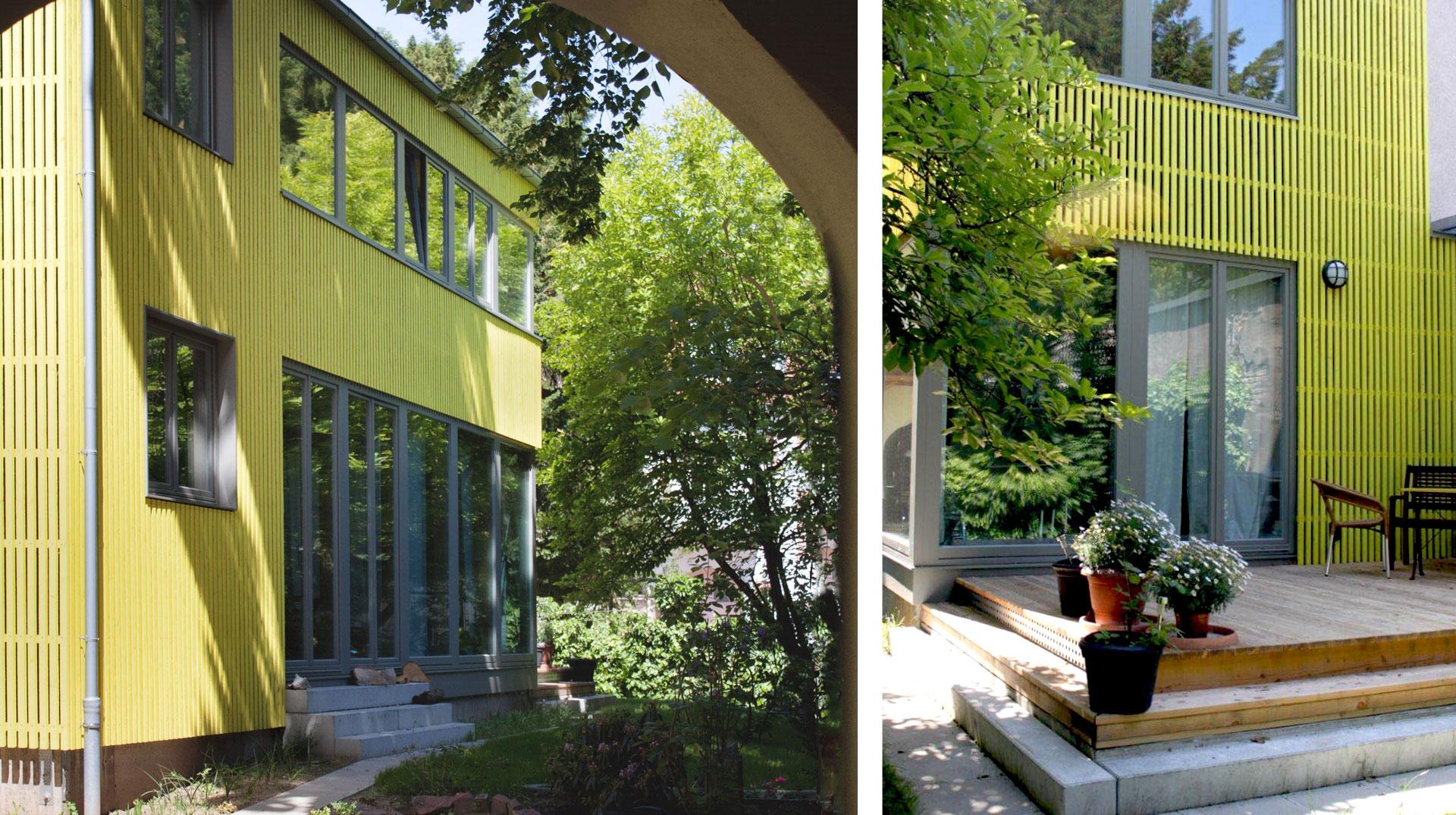 Hinterhaus Neubau Karlsruhe