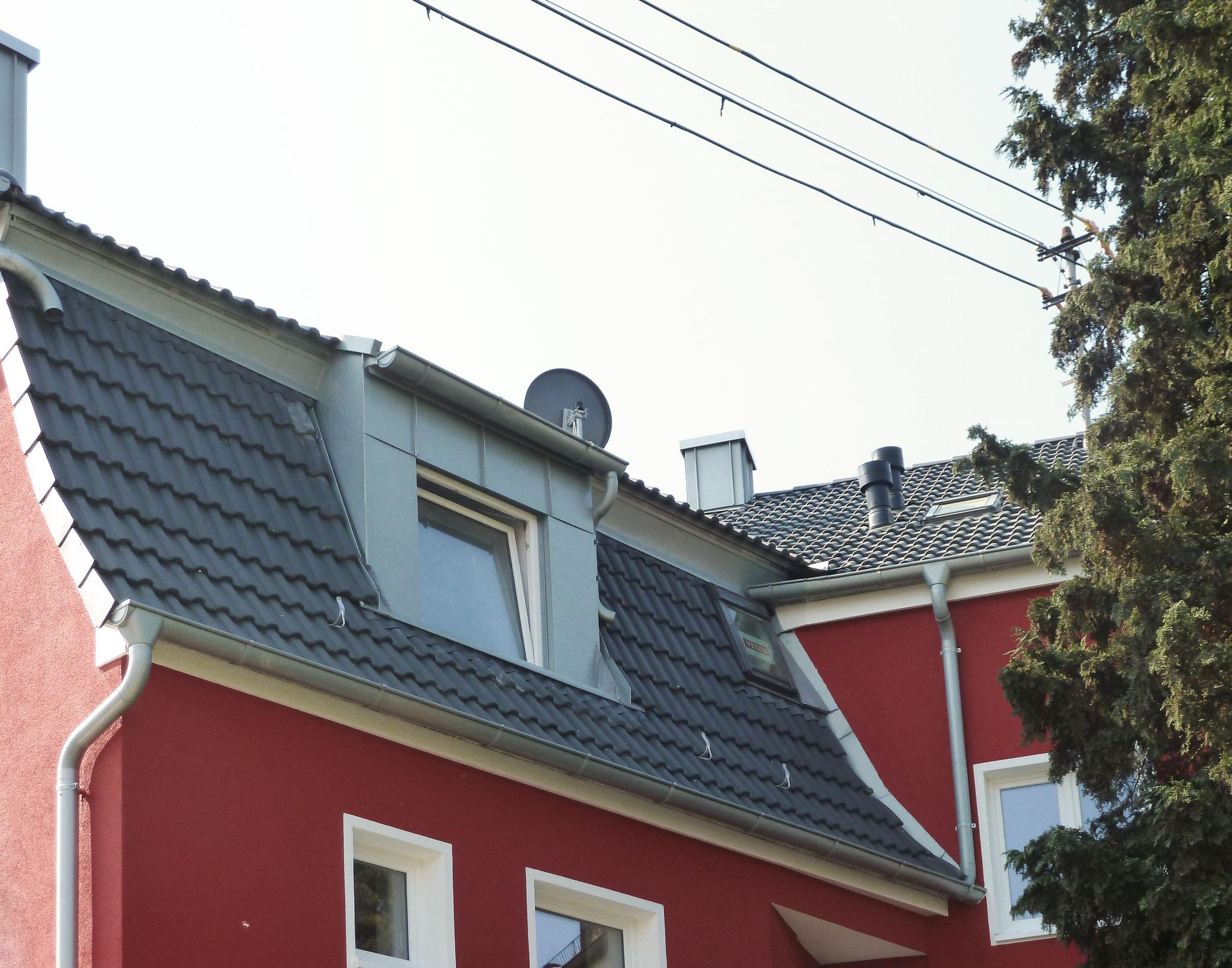 Dachdämmung 26 cm mit Luftdichtigkeitsprüfung