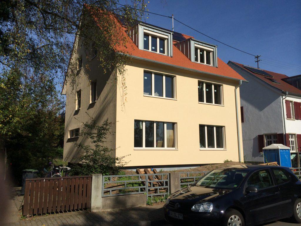 Einfamilienhaus KfW-Effizienzhausstandard 55.