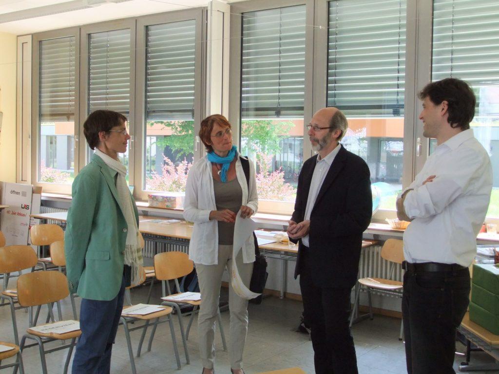 Bürgermeister Stapf mit Barbara Bisch